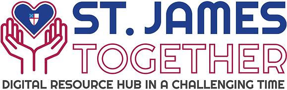 St James Together Logo with Crest SHR WI