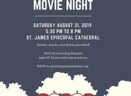 Youth Summer Movie Night