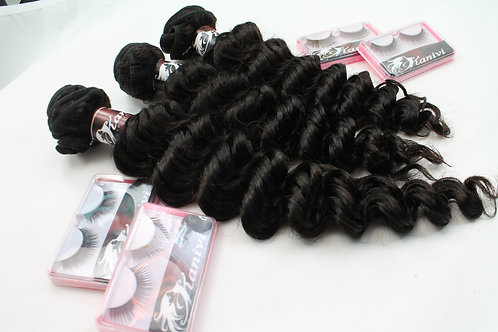 3 NATURAL THICK BUNDLES