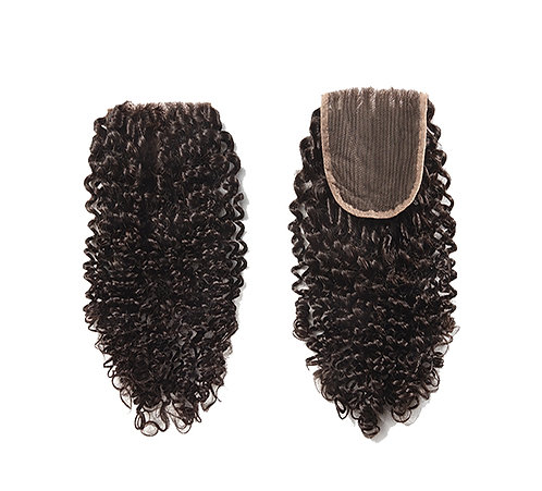 """Curly closure (lace based) 12""""-22"""""""