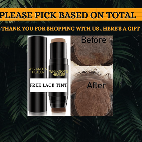 FREE LACE TINT SET ON ORDERS OVER  $250