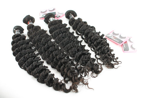 4 BUNDLES  SAME LENGTH 12'-30'