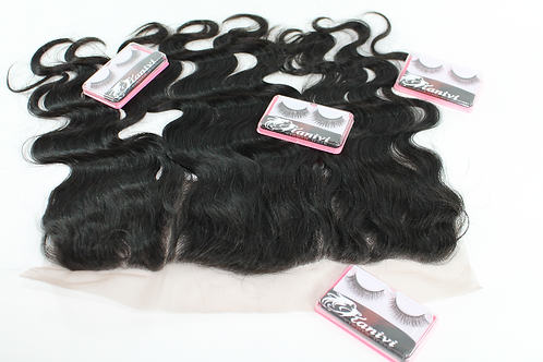 HD FRONTAL ( body wave) 12'-22'