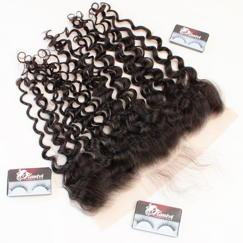 HD flower curl  FRONTAL 12'-22'