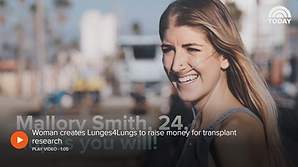 Woman creates Lunges4Lungs to raise money for transplant research