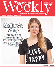 Battling cystic fibrosis is tough. But Mallory Smith is determined to live happy.