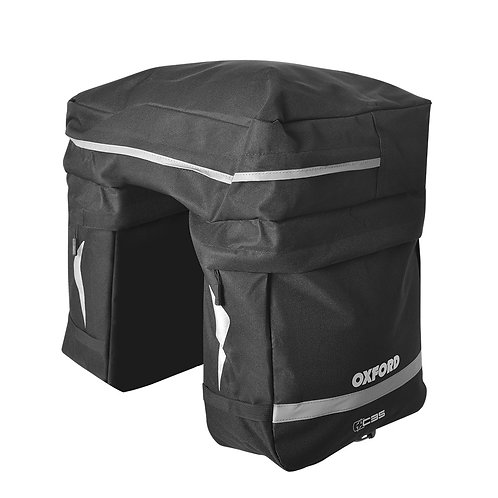 Oxford Triple Pannier 35Ltr Black