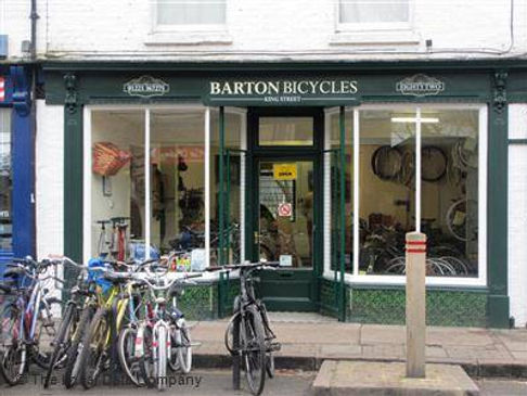 Barton Bicycles King Street Shop Front