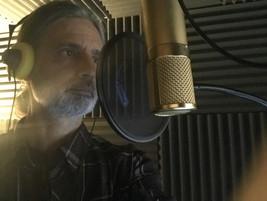 Addressing the mic!