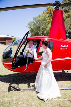 Helicopter Wedding Flights