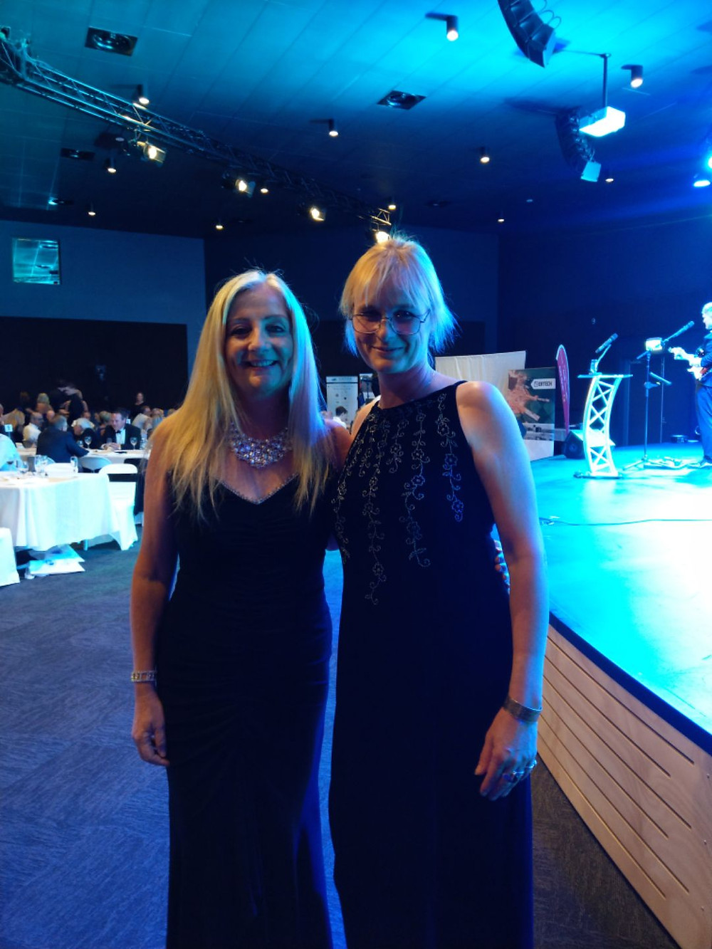 Mayor Tracey Roberts and myself at the Wanneroo BA night