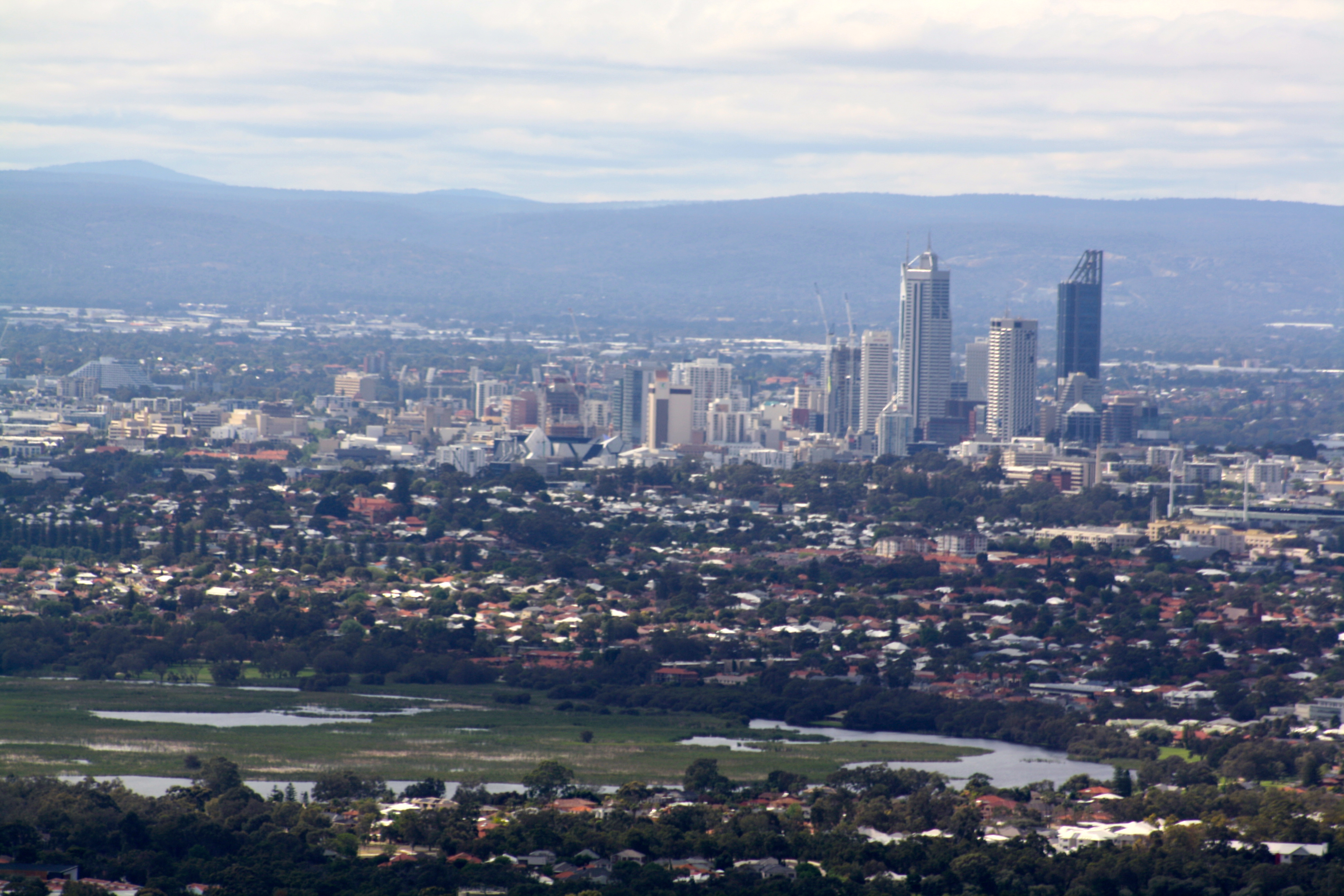 Helicopter Flights Perth City