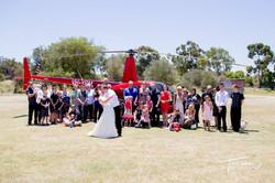 Helicopter Wedding Flight