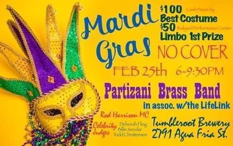 Mardi Gras Fundraiser!