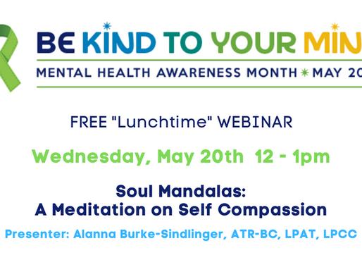 Free Webinar:  Soul Mandalas: A Meditation on Self Compassion