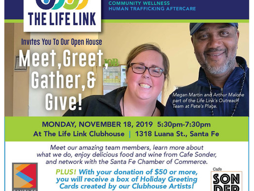 Open House & Fundraiser for Client Holiday Gifts