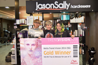 Wella Trendvision 2014 and Hairshionista Show