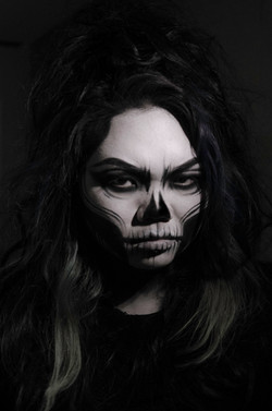 Halloween SFX Makeup Skull