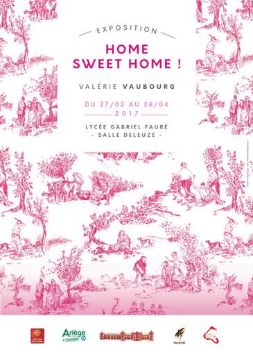 LE 27 FÉVRIER 2017, invitation au vernissage / Home sweet home!