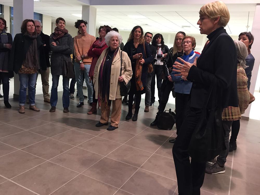 Vernissage au Lycée Gabriel Fauré, salle Deleuze, lundi 27 février 2017