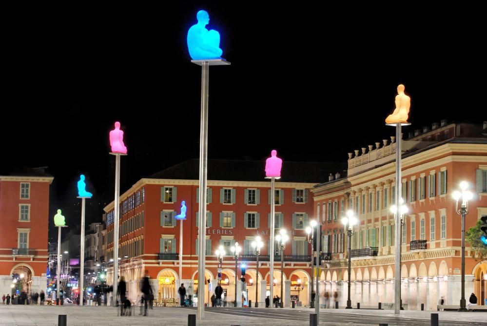 Jaume Plensa, place Masséna, Nice