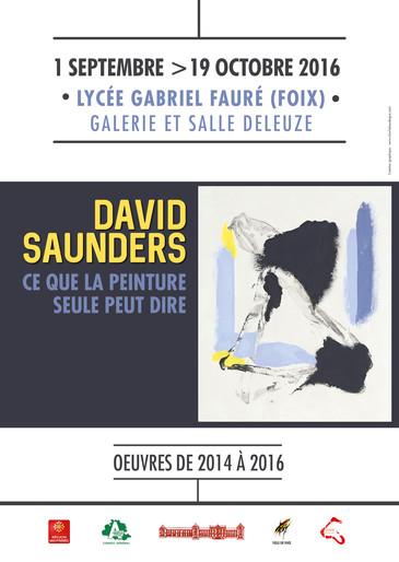 David Saunders à LA GALERIE 09