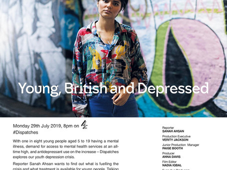 Dispatches: Young, British and Depressed
