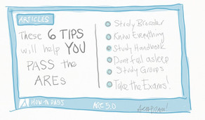 6 Quick Tips to Pass the AREs