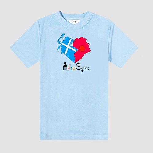 Afro-Scot Agape T-Shirt Sky Blue