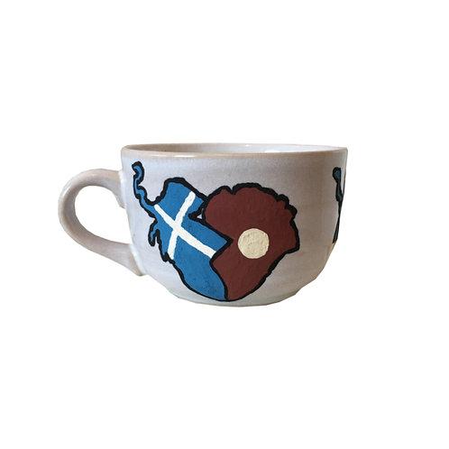 Afro-Scot Agape Teacup