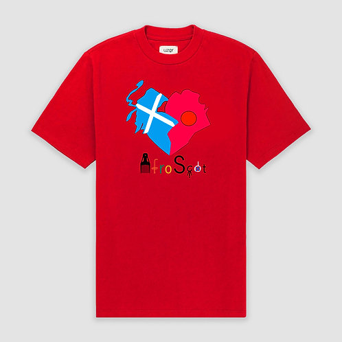 Afro-Scot Agape T-Shirt Red