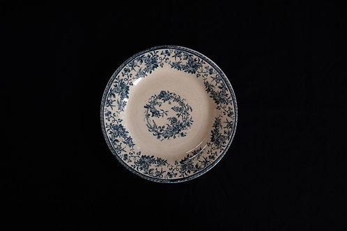 19th.C France GIEN Dinner Plate
