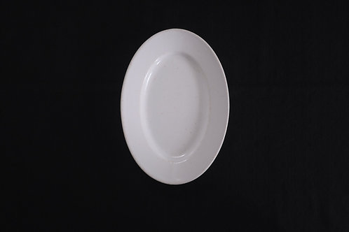 19th.C France Small Oval Plate