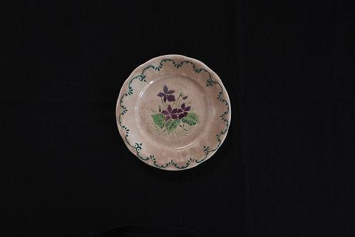 19th.C France Dessert Plate