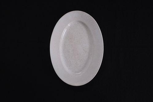 19th.C France GIEN Oval Plate