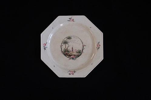 Creil et Montereau オクトゴナル デザート皿