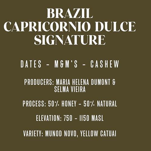 Brazil Capricornio Dulce Signature