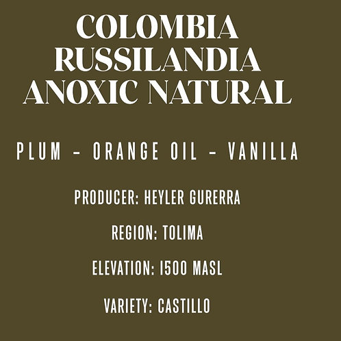 Colombia Russilandia Anoxic Natural