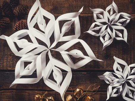 DIY-Weihnachtsdeko aus Papier ⭐