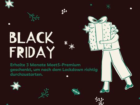 Black Friday Week! Deal des Jahres: 1 Jahr Premium-Mitglied werden und 3 Monate geschenkt bekommen