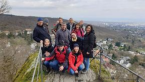 Gruppenfoto von einem Meet5 Wandertreffen