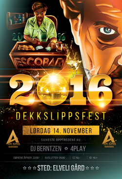 Escobar 2016 - Flyer