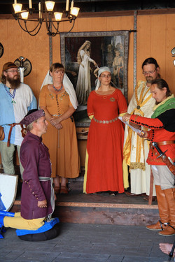 Good Knights - ceremony in costume