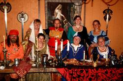 Good Knights - feast table