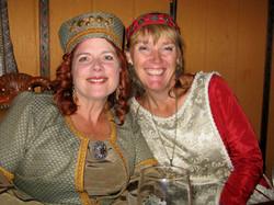Good Knights - ladies in costume