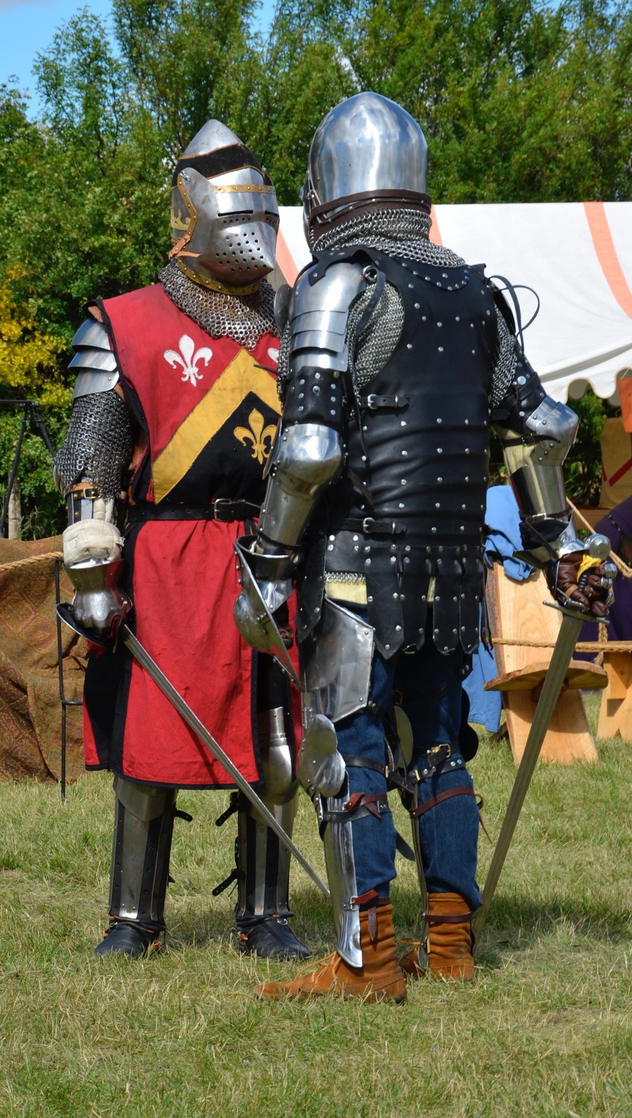 Good Knights - knights in costume