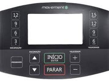 Painel Adesivo Membrana Esteira Rt250 G2 Movement Novo Tft7