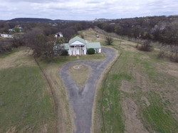 Aerial View from Front of House
