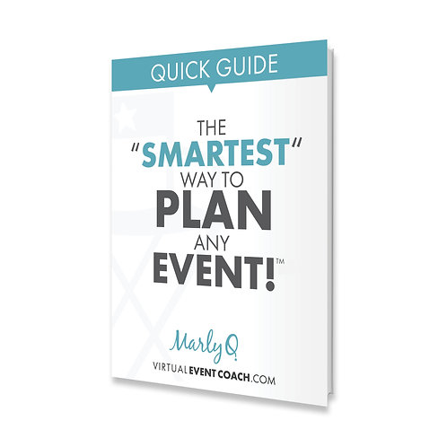 "Quick Guide : The ""SMARTEST"" Way To Plan Any Event"