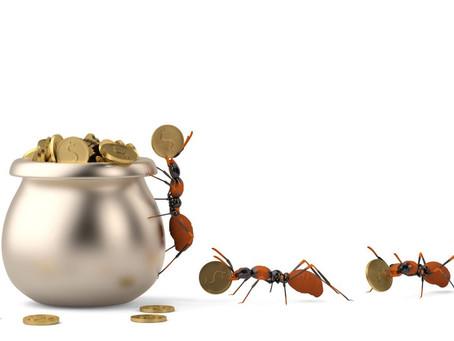 Ojo con el 'gasto hormiga'